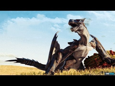 Monster Hunter 4 Ultimate Announcement Trailer (2015)