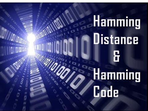 Hamming Distance & Hamming Code Calculation