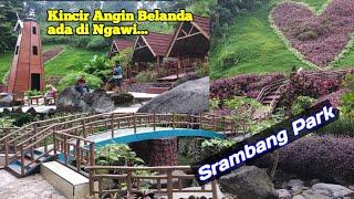 Srambang park Ngawi, ada kincir angin belanda disini