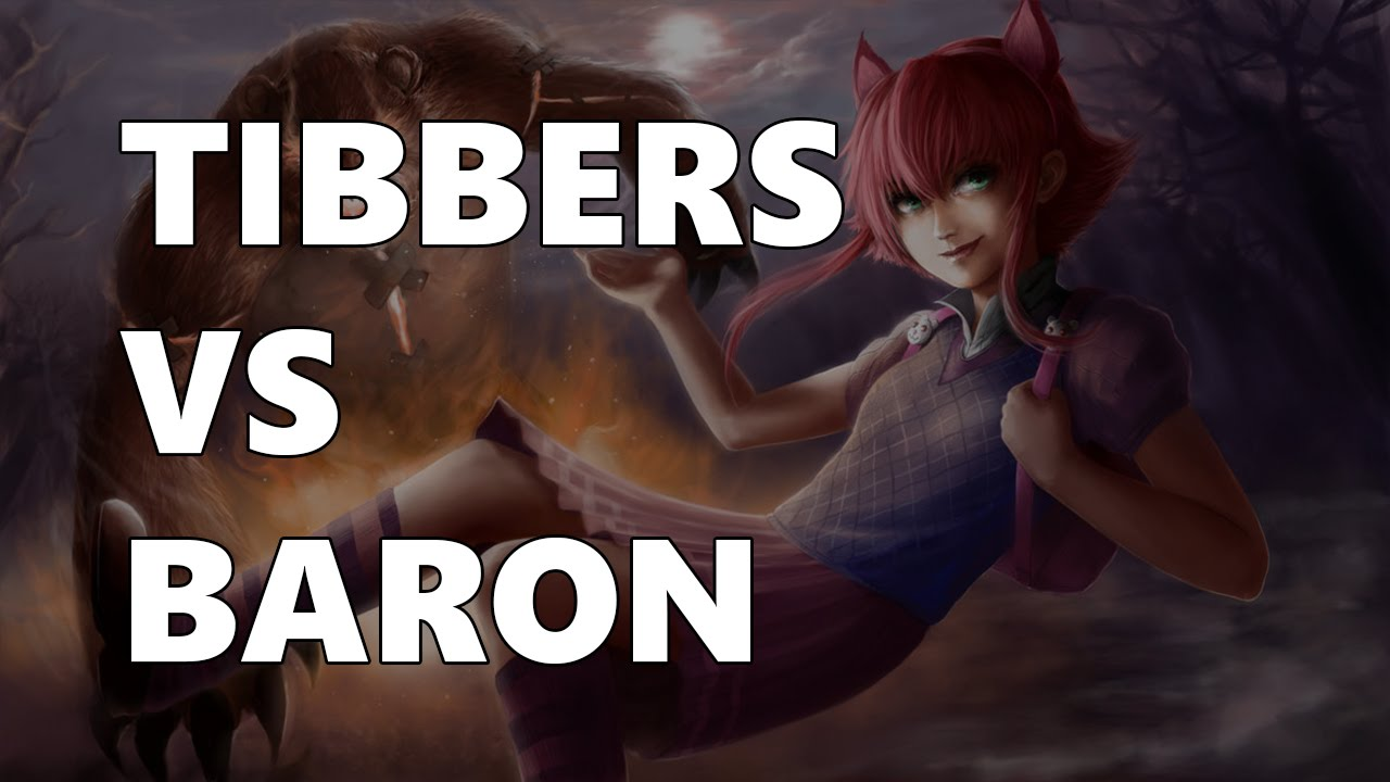 Gấu Tibbers solo với Baron, ai thắng?