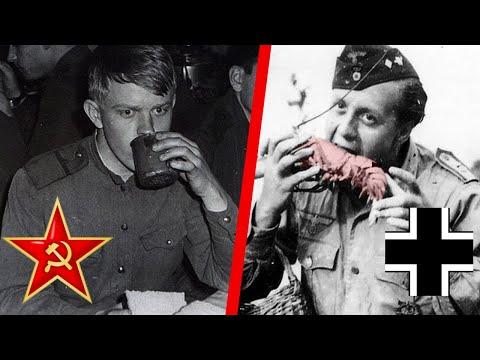 Как питались на Великой Отечественной? Сравнение пайков РККА и Вермахта