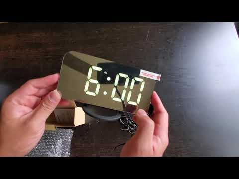 Ousome Led Digital Alarm Clock Unboxing