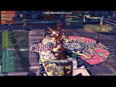 [Blade & Soul] Blade Master Lv.45 - Liberation Final Fog Jean Boss Fight (Team 2) (KR)