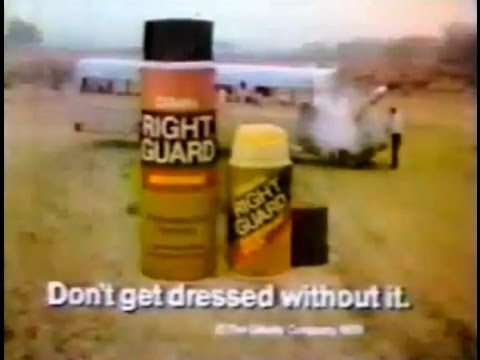 Right Guard 'Baseball Bus' Commercial (1978)
