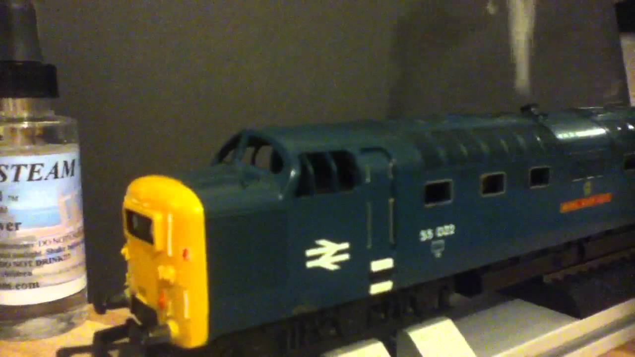 Hornby Railroad Class 55 Deltic Diesel Dcc Seuthe 22 Smoke