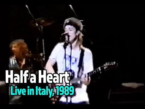 Half A Heart (Live) - Tommy Conwell and the Young Rumblers, Live in Italy