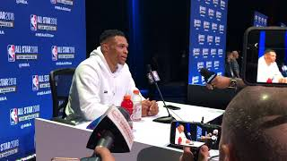 NBA All-Star Game: Russell Westbrook on being a dad