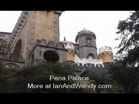 The Pena National Palace in Sintra.