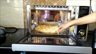 How to use Diet Fry mode in LG Charcoal Lightwave Oven   LG Diet Fry Review by Happy Pumpkins