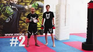 CombatAnt MMA Club - Tactics against taller and bigger opponents - ep. 2 - Punches