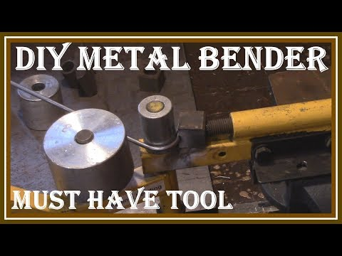 METAL BENDER MACHINE REVIEW - HOW TO BEND METAL THE EASY WAY