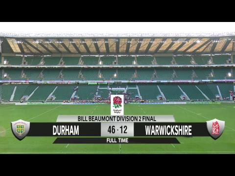 Watch live: Bill Beaumont County Championship Division Two …