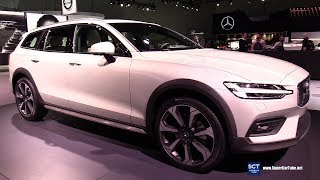 2019 Volvo V60 Cross Country T5 - Exterior and  Interior Walkaround - 2018 LA Auto Show