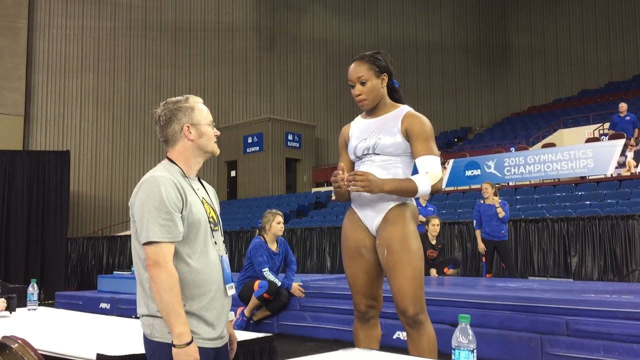 Toni-Ann Williams Cal Women39s Gymnastics Toni Ann Williams 2015 Gymnastics