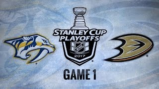 Neal lifts Preds past Ducks in OT for 3-2 Game 1 win
