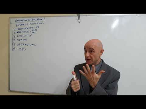 Business Administration - Lecture 01