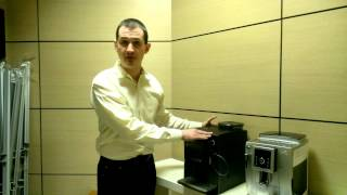 видео запчасти для кофемашин  delonghi