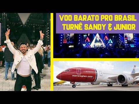 Voando low cost pro Brasil + vlog Turnê S&J Nossa História  DOUG PELO MUNDO