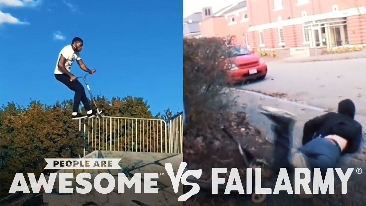 Wins VS. Fails in Cyr Wheeling, Kiteboarding, Parkour & More