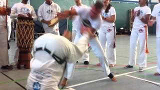 "Abada capoeira Cantiga ""Mae Africa"""