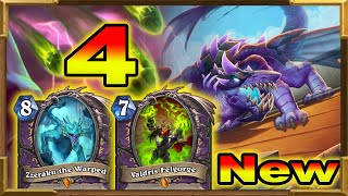 Hearthstone: 100% Winrate Against Hunter | Dragons, Big Hands Warlock with Zzeraku, Dragonqueen Pt.4