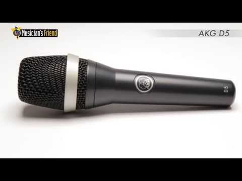 AKGD5 Supercardioid Handheld Dynamic Microphone