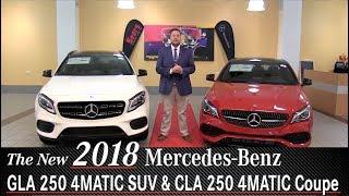 Review: New 2018 Mercedes-Benz GLA250 vs CLA250 Comparison - Minneapolis Minnetonka Wayzata, MN