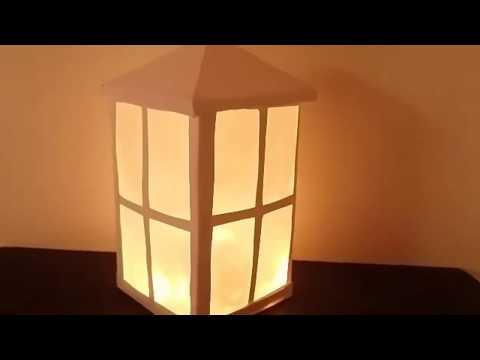paper Lantern / How to make lanterns / DIY Lantern / home decor