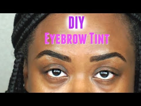 First Time: Eyebrow Tint Tutorial thumbnail
