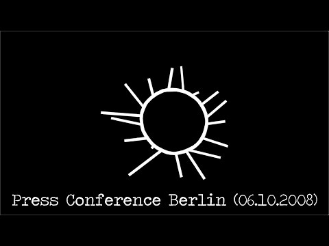 Depeche Mode Press Conference, Berlin 06.10.2008