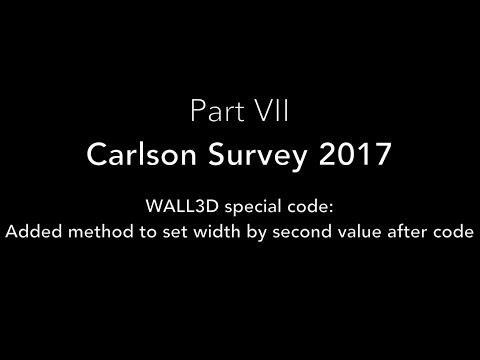 Carlson Survey 2017: Part VII