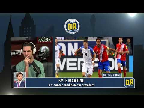 Kyle Martino joins WatchDA.com I CBS Sports Radio
