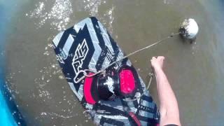 Départ et retour en Kite seul sans avoir de plage (Débutant)