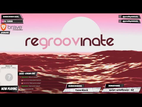 Regroovinate - 24/7 Lofi Triphop Chill Radio -  Music to Study / Work / Relax