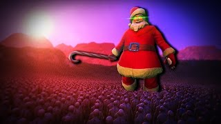 Santa vs 100.000 Zombies! | Ultimate Epic Battle Simulator (UEBS)
