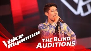 "Bawa: ""ကိုယ္ေစာင့္နတ္"" - Blind Audition - The Voice Myanmar 2018"