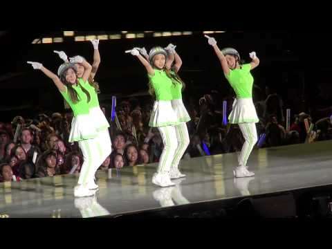 [Fancam] CRAYON POP- Talk & Dancing Queen @ M! Countdown What's Up LA KCON 2013