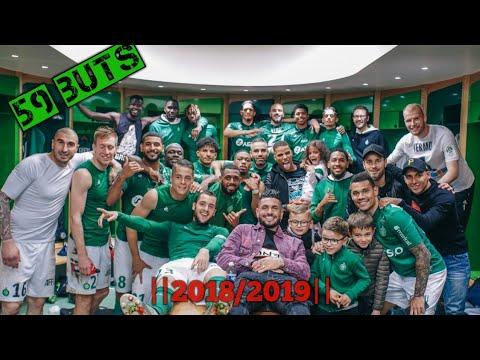 ASSE Les BUTS En Ligue 1 Saison -|2018/2019|- (59 BUTS)