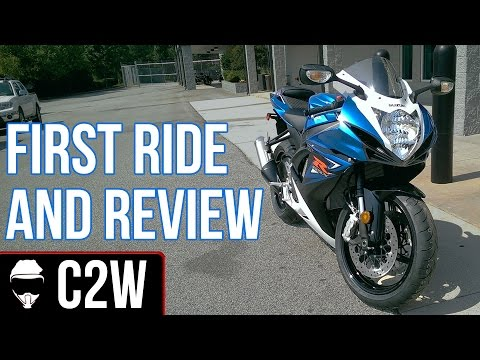 GSXR 600 - First Ride and Review