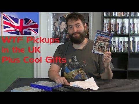 Gifts & Random Videogame Pickups in the UK - Adam Koralik