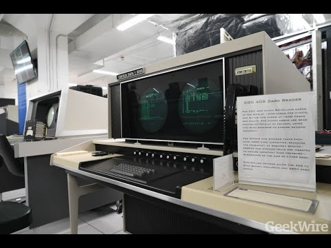 CDC 6500 supercomputer at the Living Computers Museum + Labs