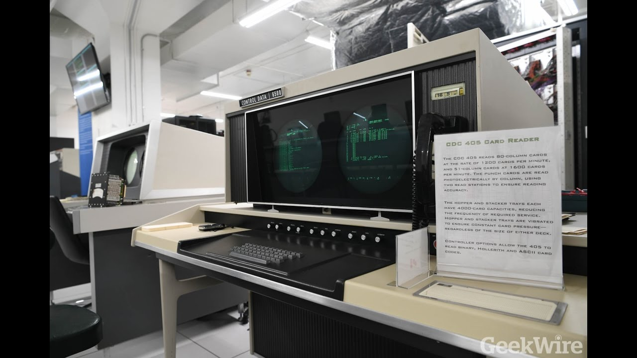 CDC 6500 supercomputer at the Living Computers Museum ...