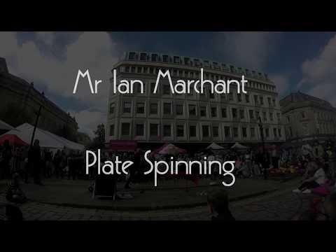 Mr Ian Marchant presents Plate Spinnning