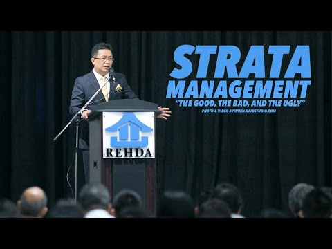 STRATA MANAGEMENT (THE GOOD, THE BAD, AND THE UGLY)