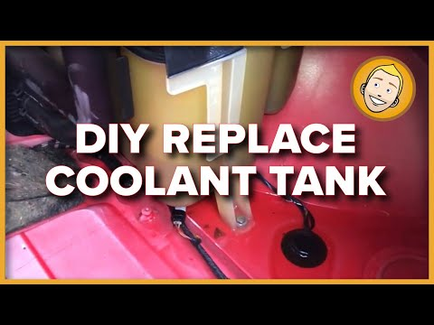 How to REPLACE COOLANT TANK in a Porsche Boxster 986 (Project 33)