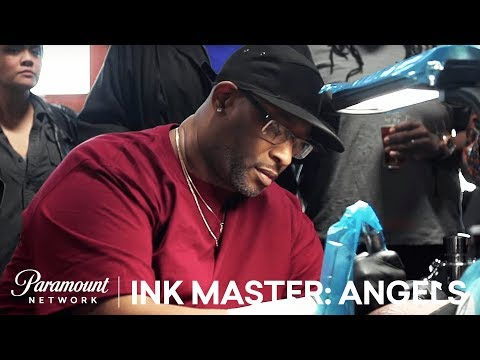 Angels of the Inner Harbor: 'Ryan vs Scientific' Tattoo Face Off | Ink Master: Angels (Season 1)
