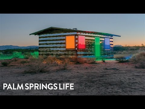 Artist Turns the Abandoned Shack in the Mojave Desert Into an Incredible Illusion