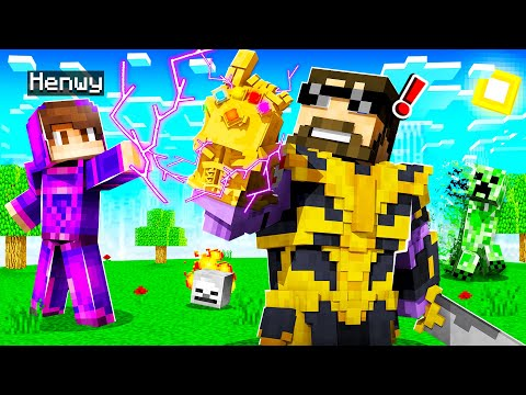 USING OVERPOWERED MAGIC on THANOS in INSANE CRAFT!