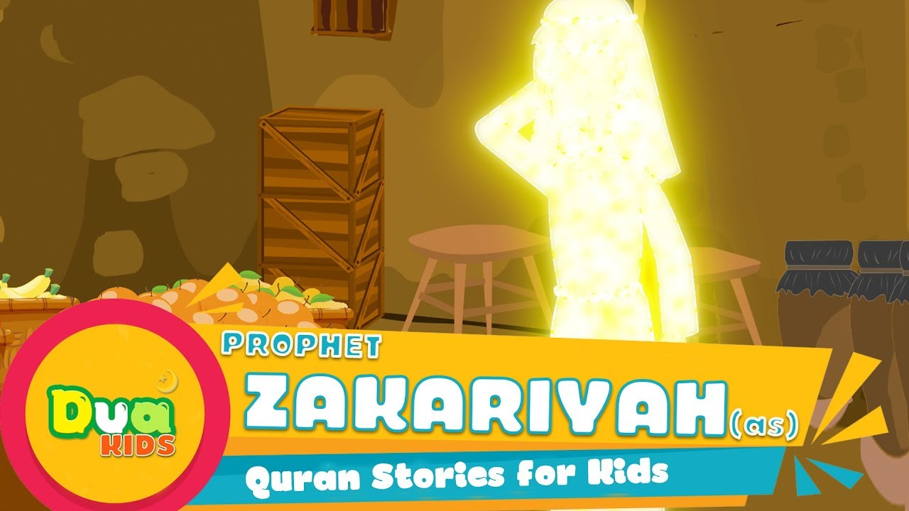 Download The Story of Prophet Zakariyah (AS) In English Ep 28 | Islamic Kids Videos | Kids Stories #Cartoon