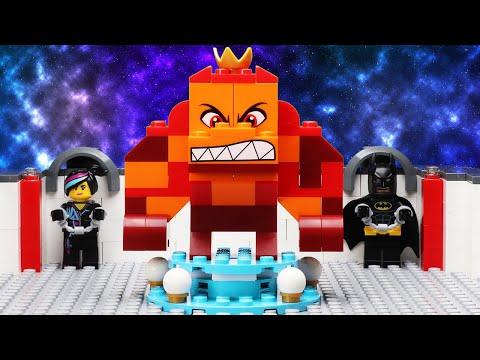 LEGO Movie 2 - Emmet & Rex Meet Queen Watevra Wa'Nabi | Minifigure Studios